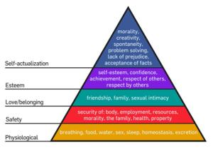 Maslow Heirarchy of Needs